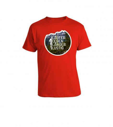 """Shirt """"Läufer Leben Länger Lustig"""""""